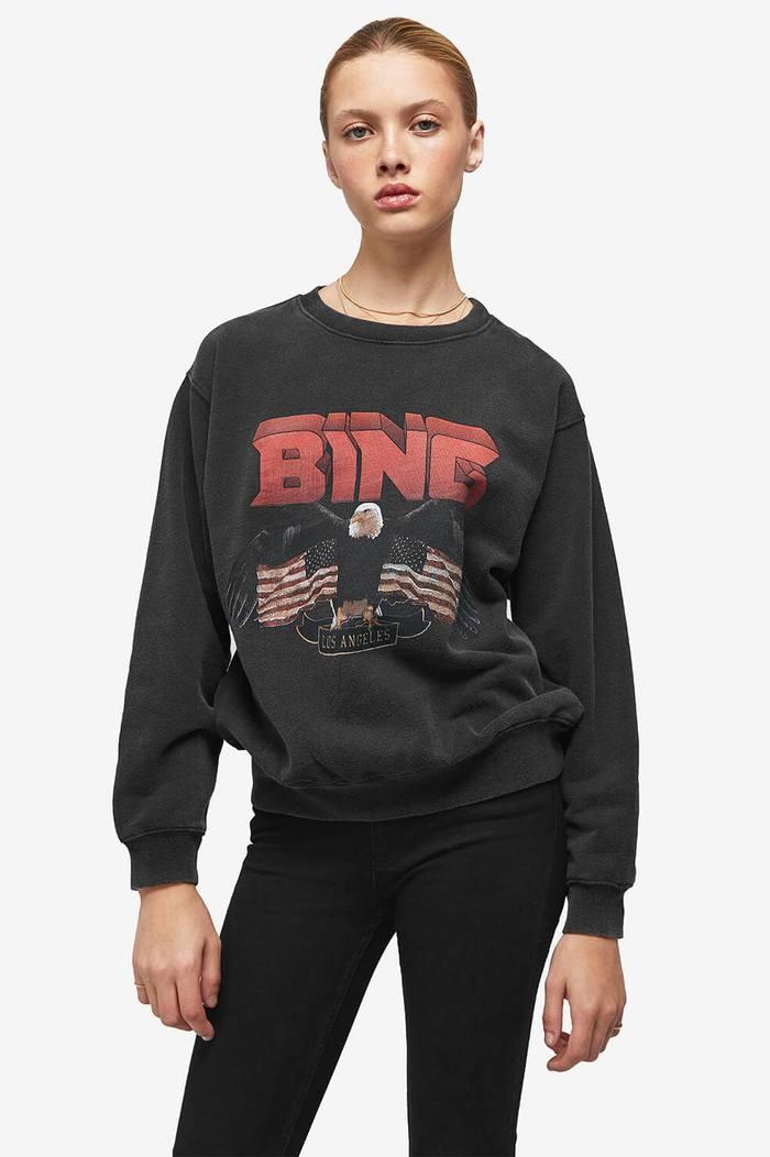 Vintage Bing Sweatshirt - Black-6