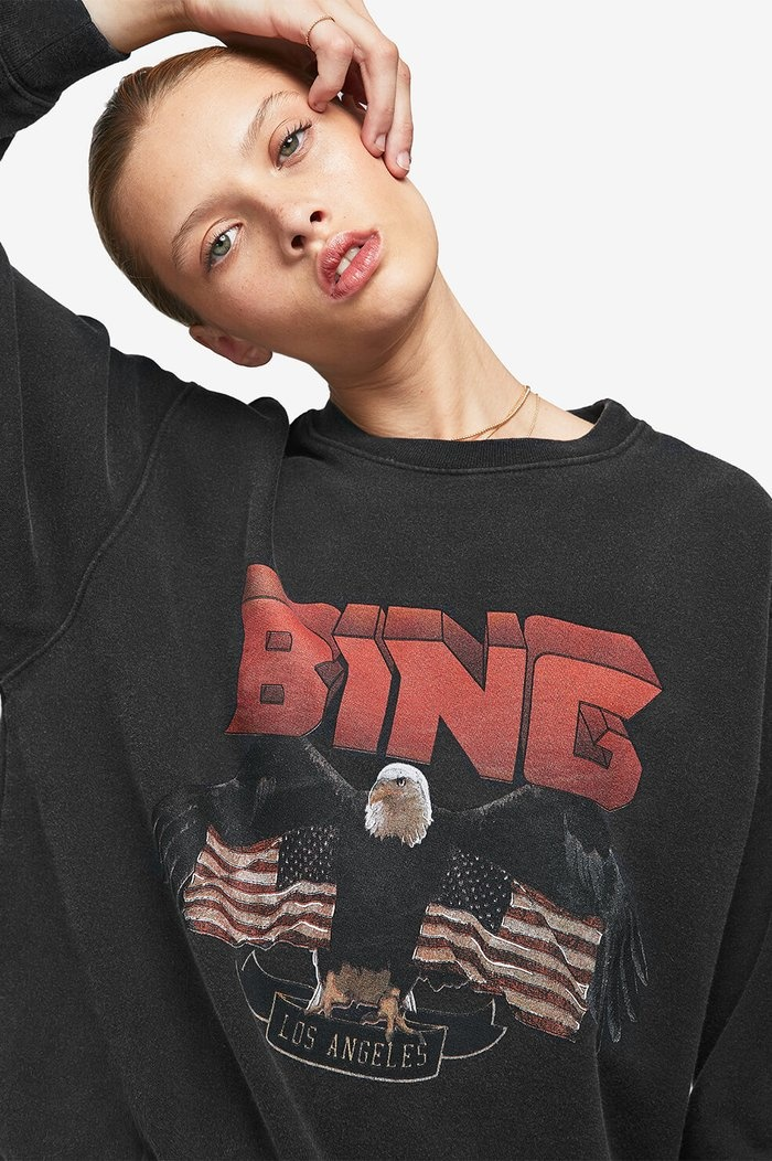 Vintage Bing Sweatshirt - Black-7