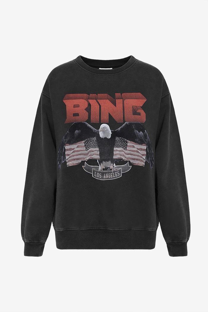 Vintage Bing Sweatshirt - Black-11