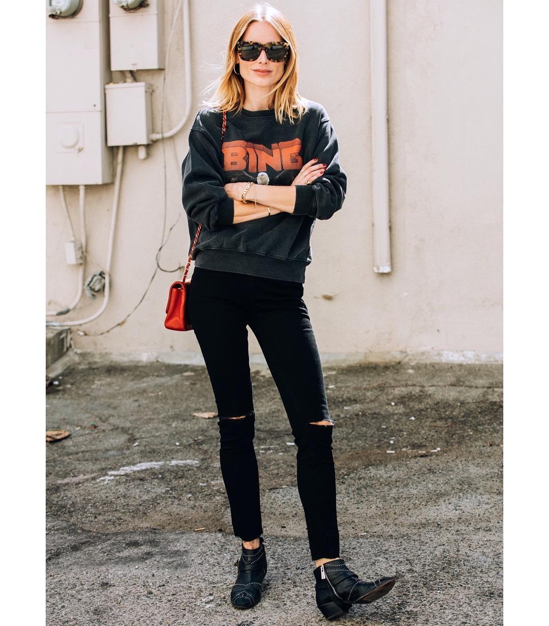 Vintage Bing Sweatshirt - Black-9