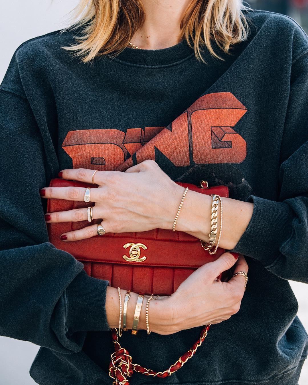 Vintage Bing Sweatshirt - Black-10