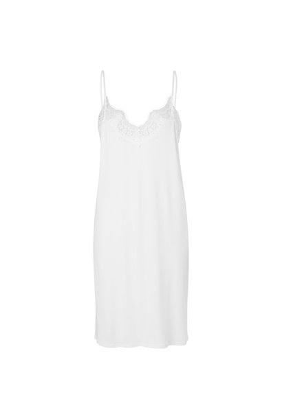 Dallas Slip Dress - Cream