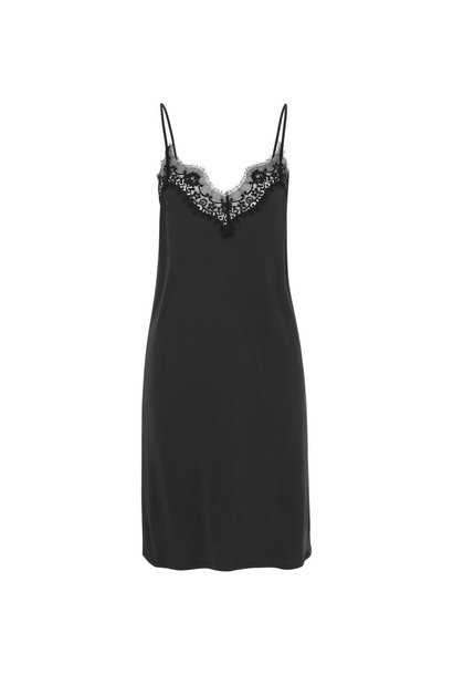 Dallas Slip Dress - Black