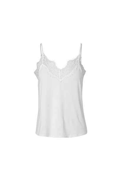 Dallas Slip Top - Cream