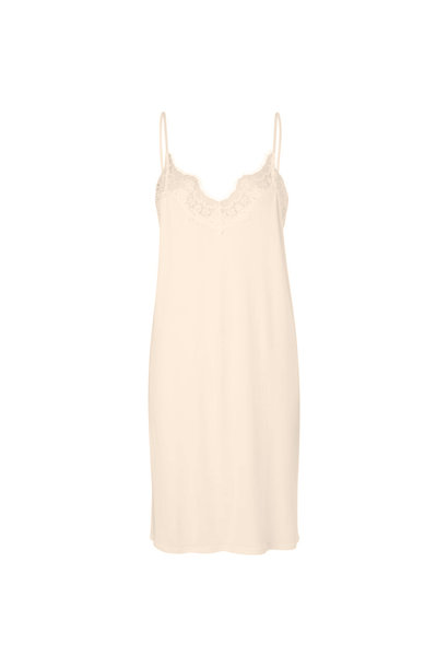 Dallas Slip Dress - Nude