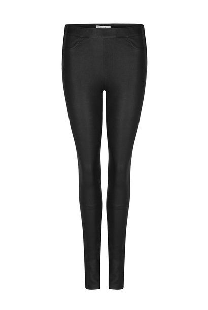Campbell Leather Legging - Raven