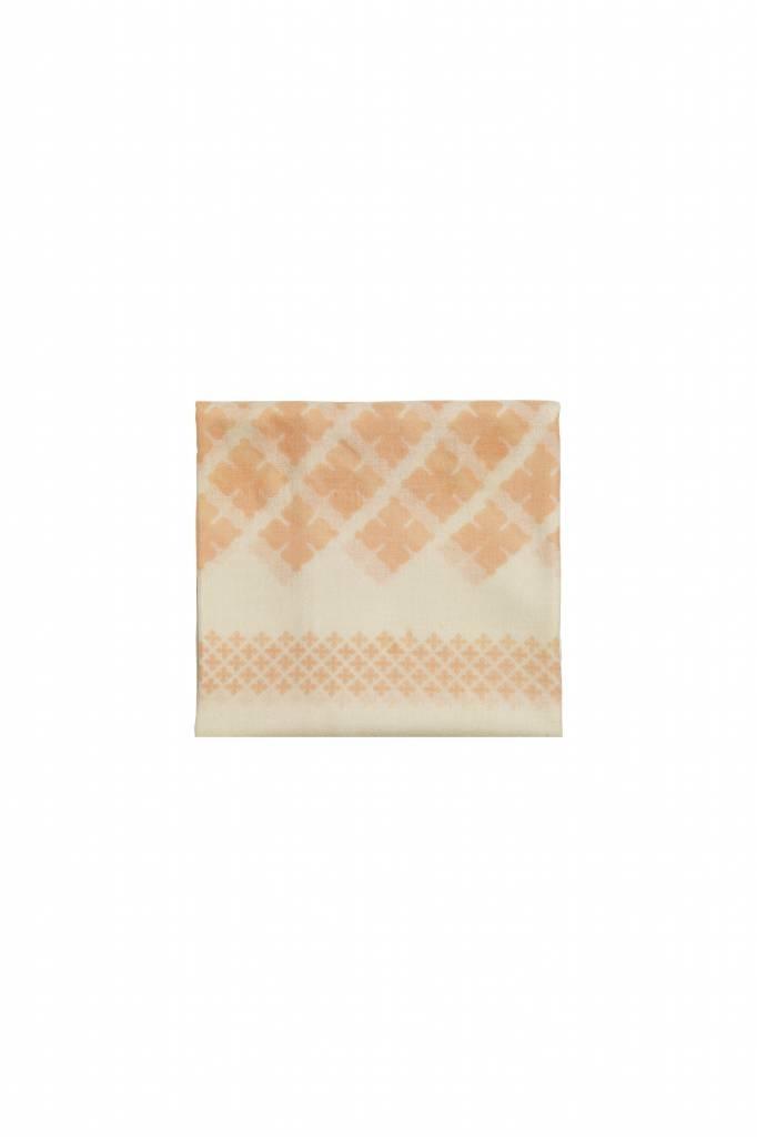 Wool Twill Scarf - Pink Sand-1