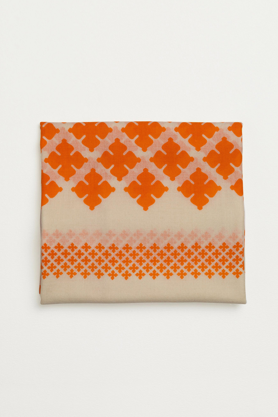 Wool Twill Scarf - Clemence-4
