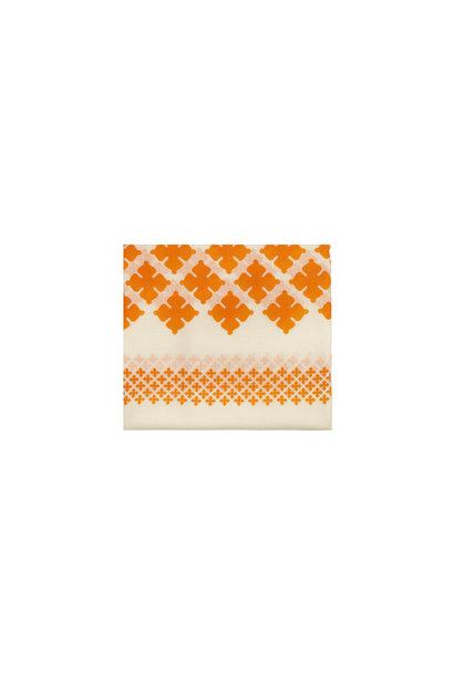 Wool Twill Sjaal - Clemence Oranje