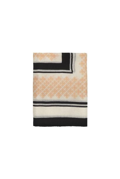 Wool Twill Scarf - Pink Sand