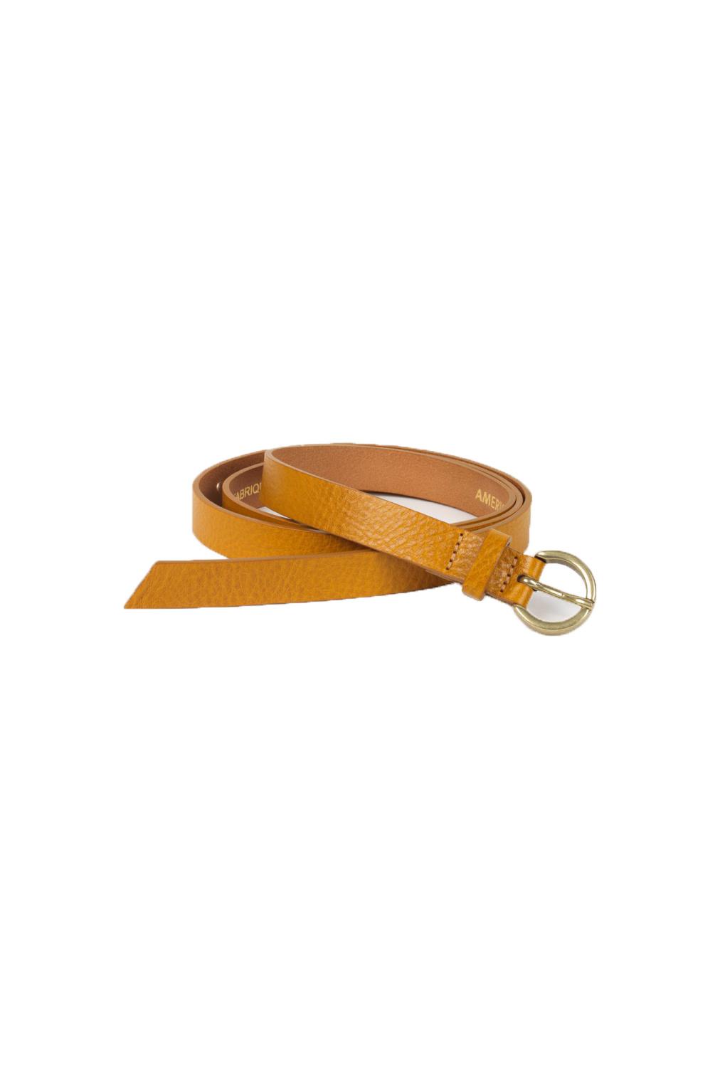 Lomabay Belt - Marmelade Yellow-1