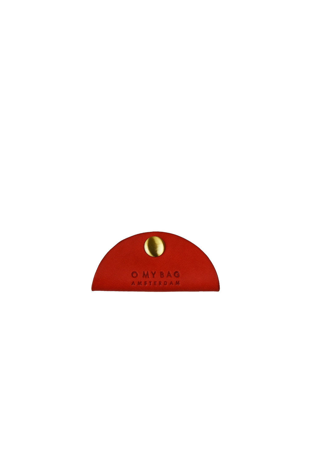 Taco Cord Holder - Red Classic Leather-1