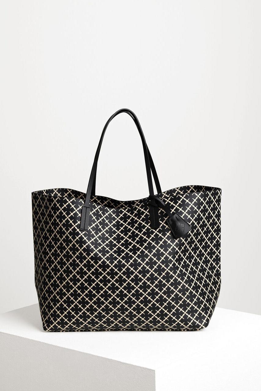 Abi Tote Bag - Black-5