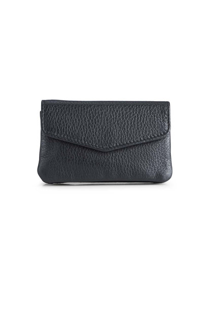 Faith Coin Purse Grain - Black