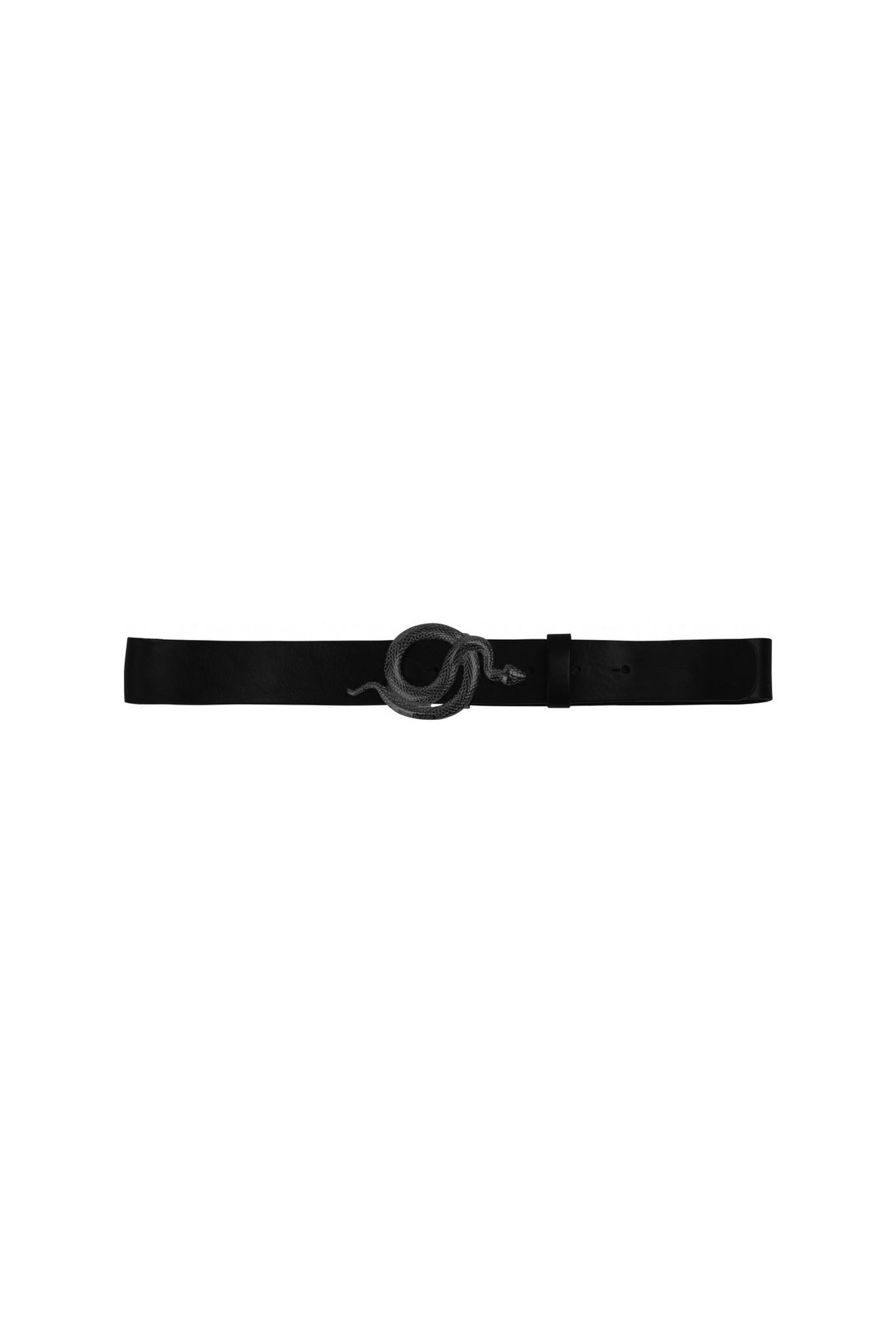 Milo Leather Belt - Black-1