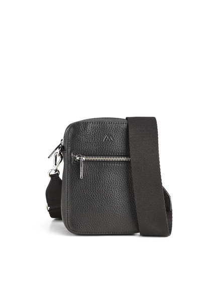 Mariana Crossbody Bag Grain - Black w/ Black