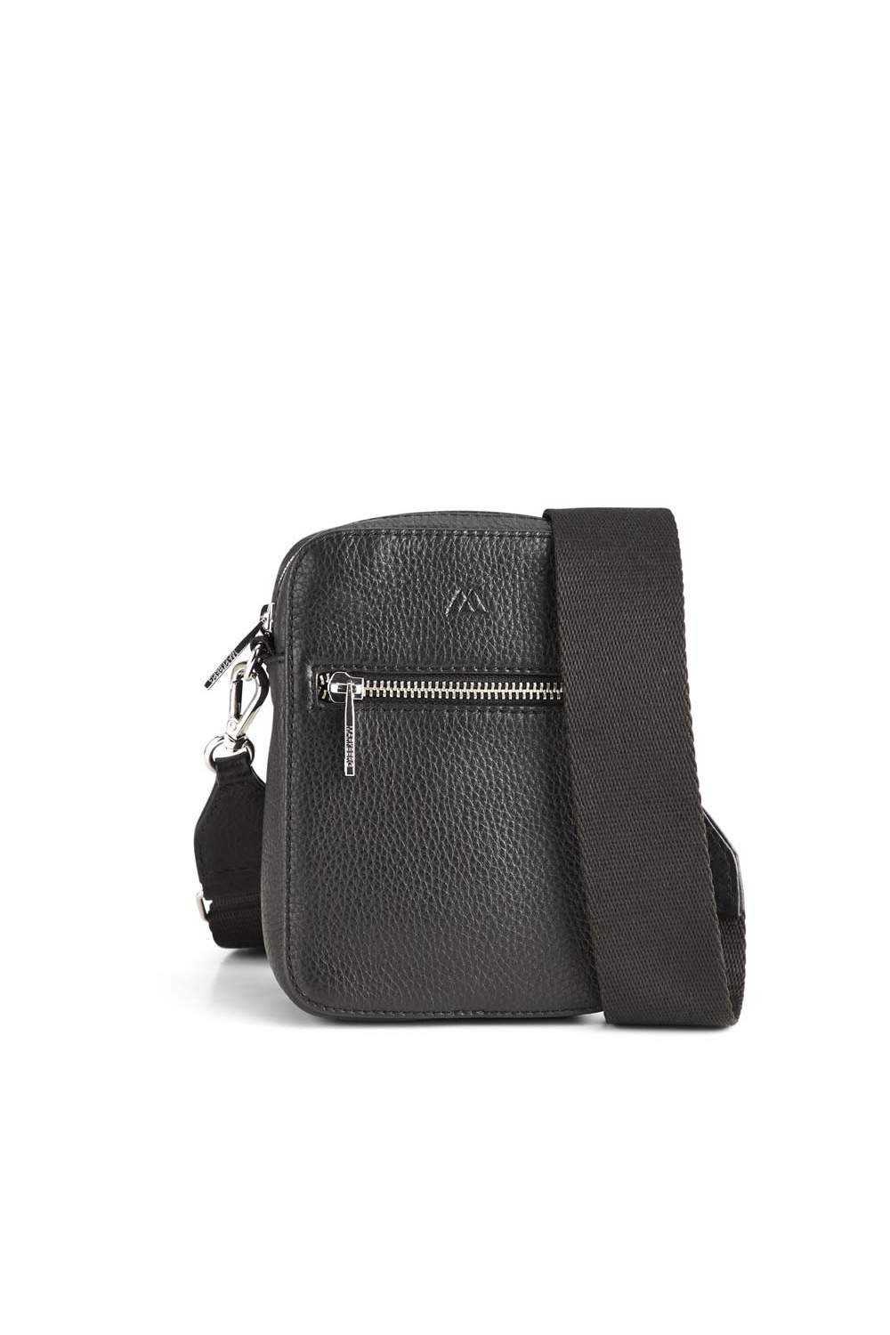 Mariana Crossbody Bag Grain - Black w/ Black-1