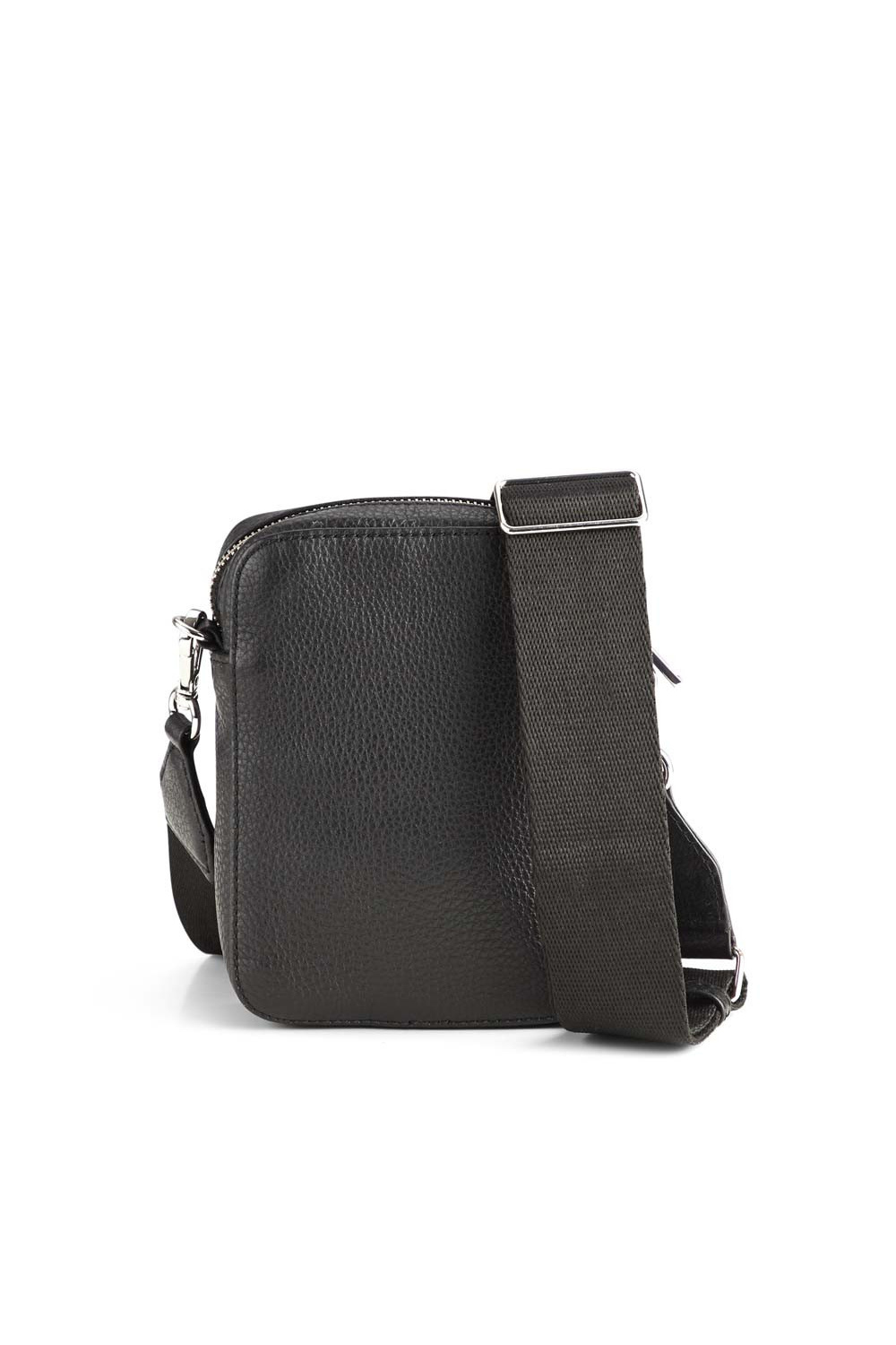 Mariana Crossbody Bag Grain - Black w/ Black-4