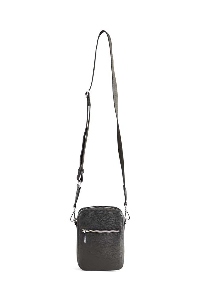 Mariana Crossbody Bag Grain - Black w/ Black-2