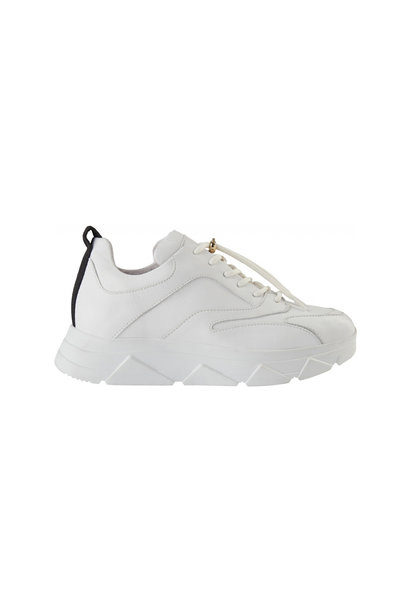 Portia Leather Sneaker - White