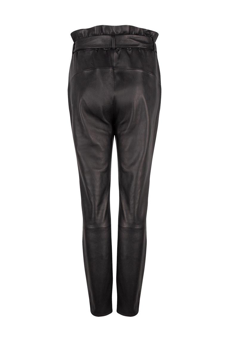 Duncan Leather Pants - Raven-3