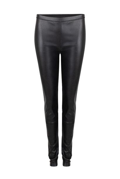 Gaga Faux Leather Legging - Raven