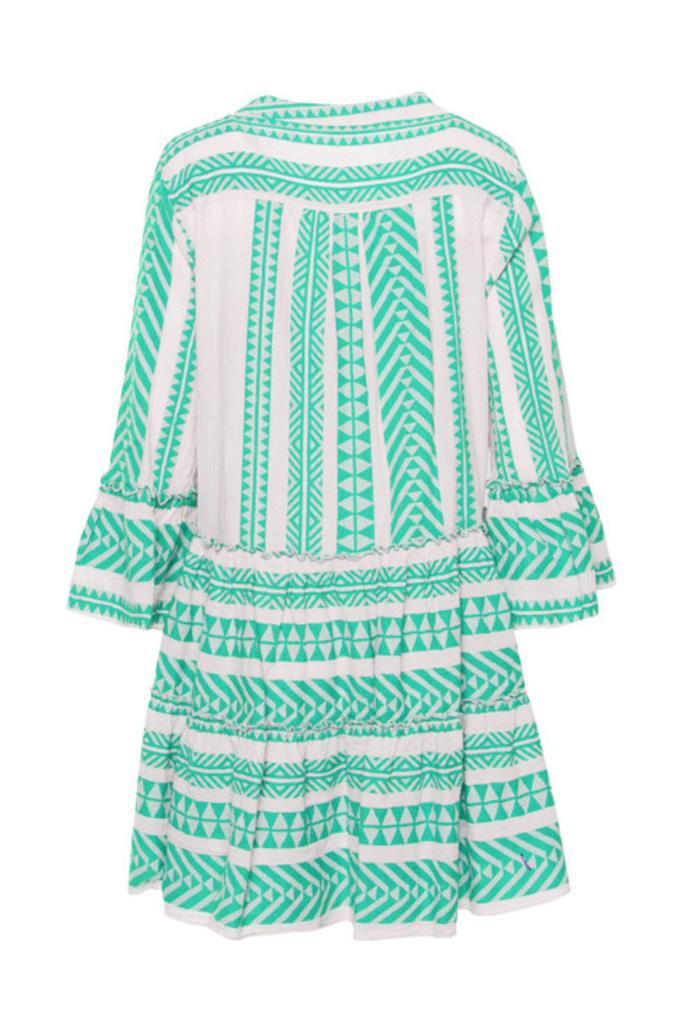 Ella Short Dress - Mint-2