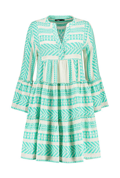 Ella Short Dress - Mint