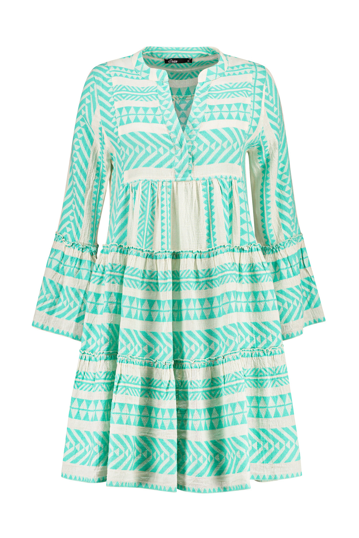 Ella Short Dress - Mint-1