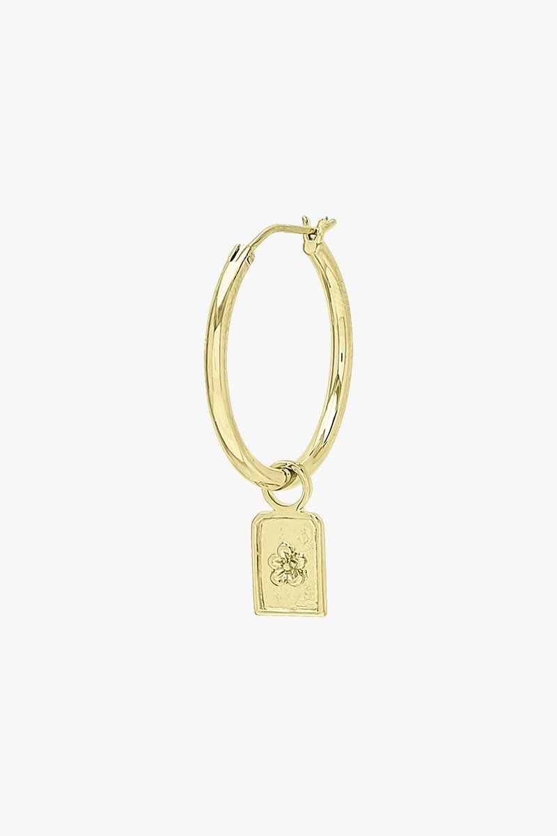 Sauvage Earring Charm - Gold-3