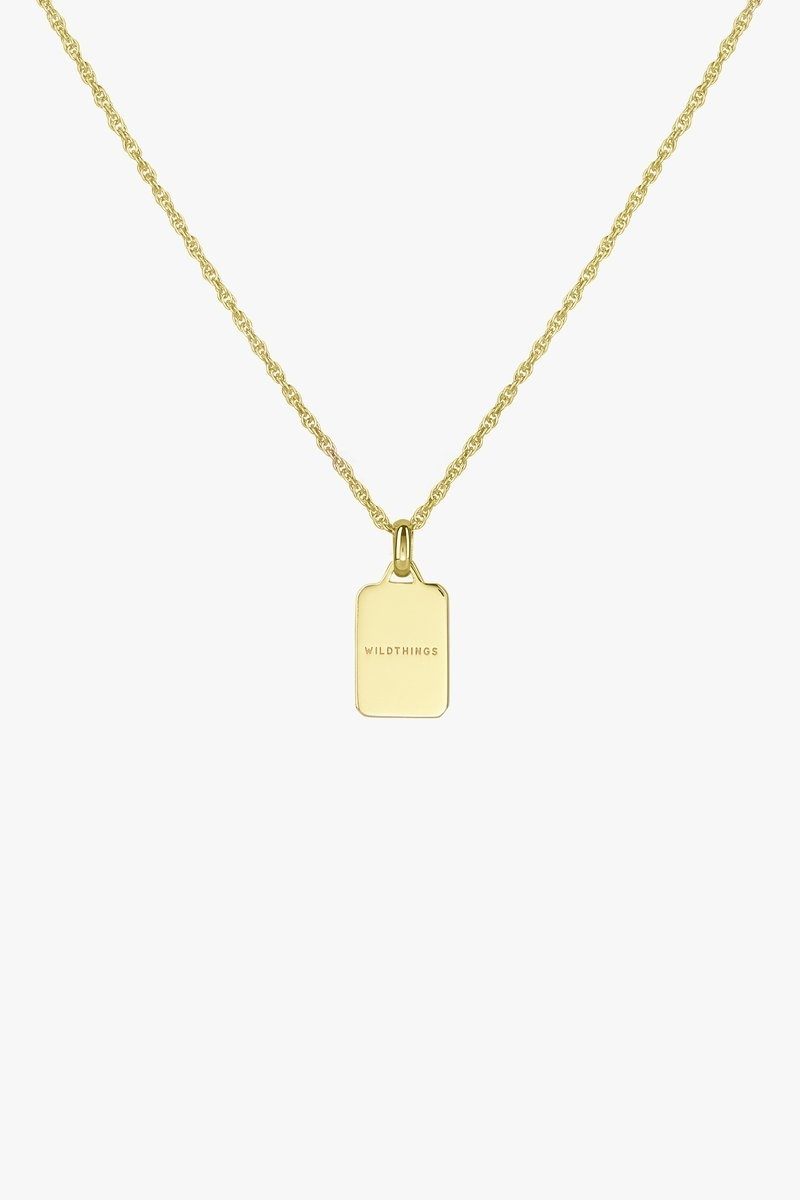 Sauvage Necklace Pendant - Gold-3