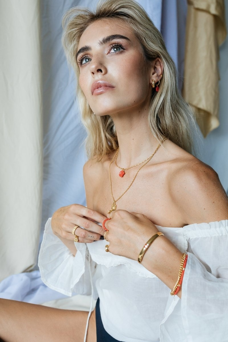 Figaro Choker Necklace - Gold-8