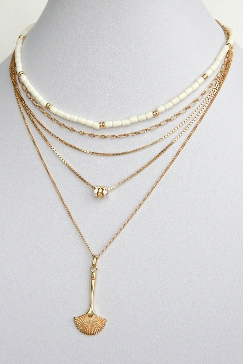 Figaro Choker Necklace - Gold-3