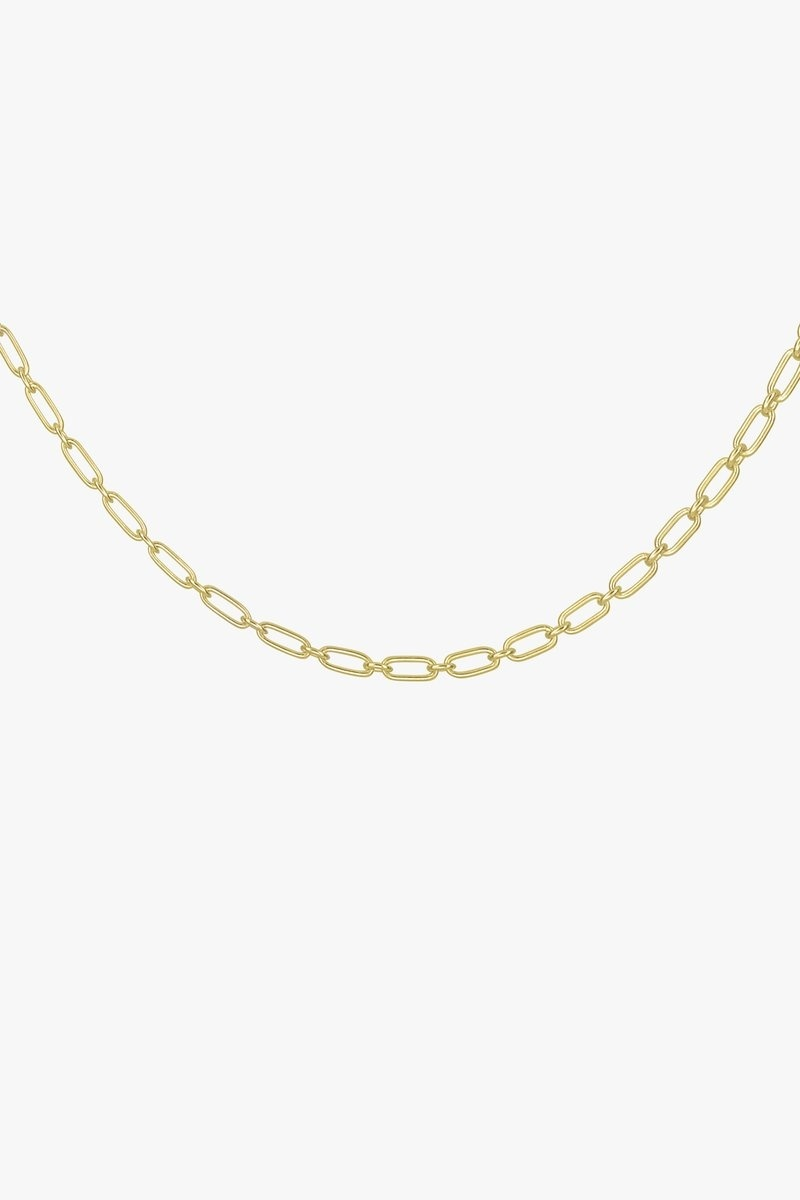 Figaro Choker Necklace - Gold-2