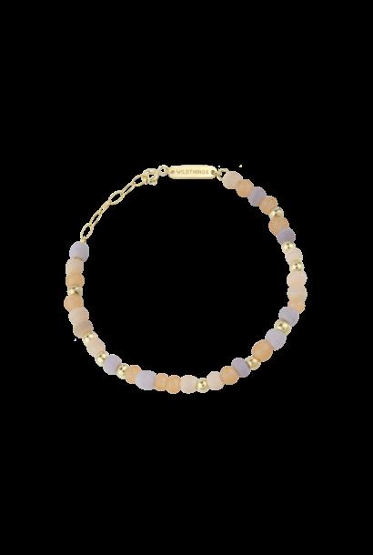 Pink Palette Bracelet - Gold
