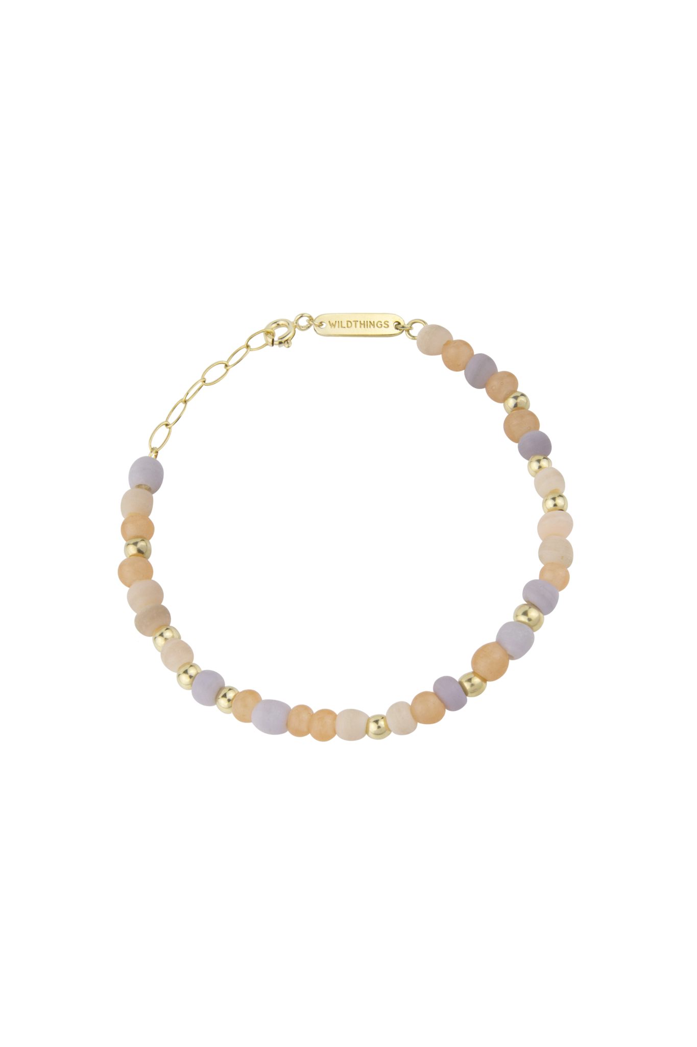 Pink Palette Bracelet - Gold-1