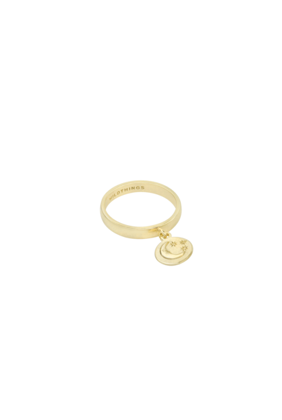 Nightfall Charm Ring - Gold