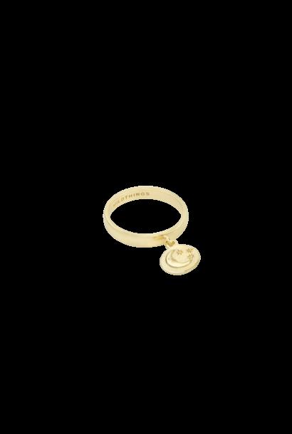 Nightfall Hanger Ring - Goud