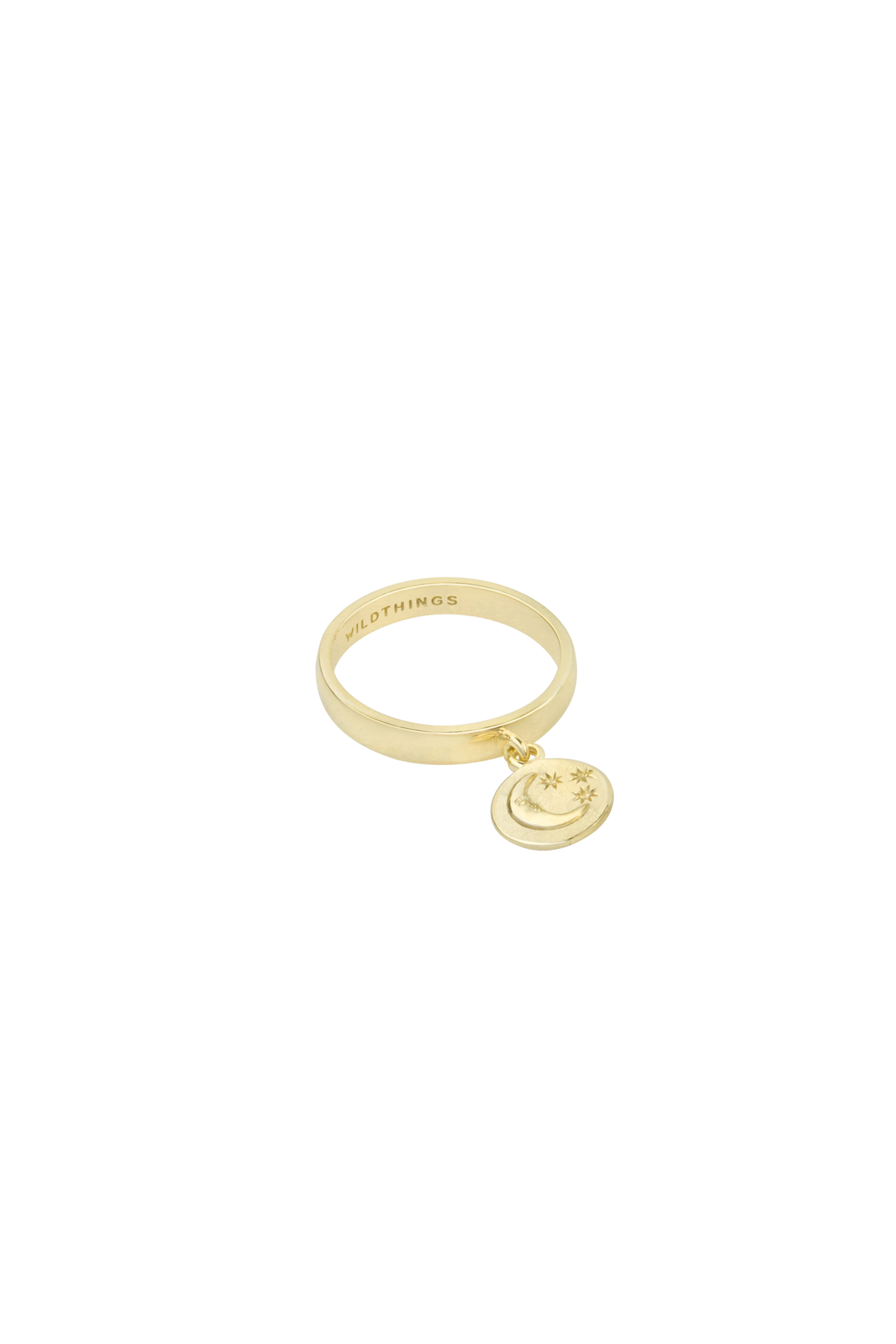 Nightfall Charm Ring - Gold-1