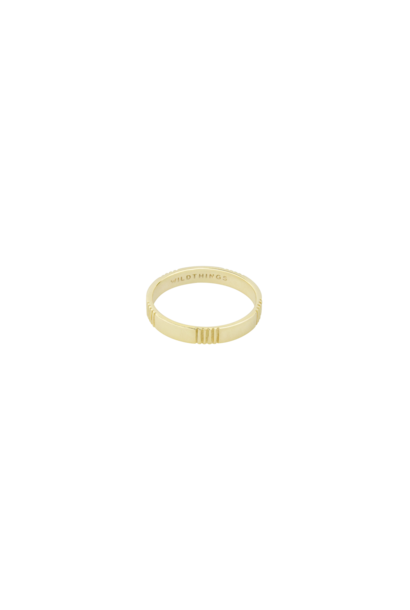 Five Lines Ring - Gold