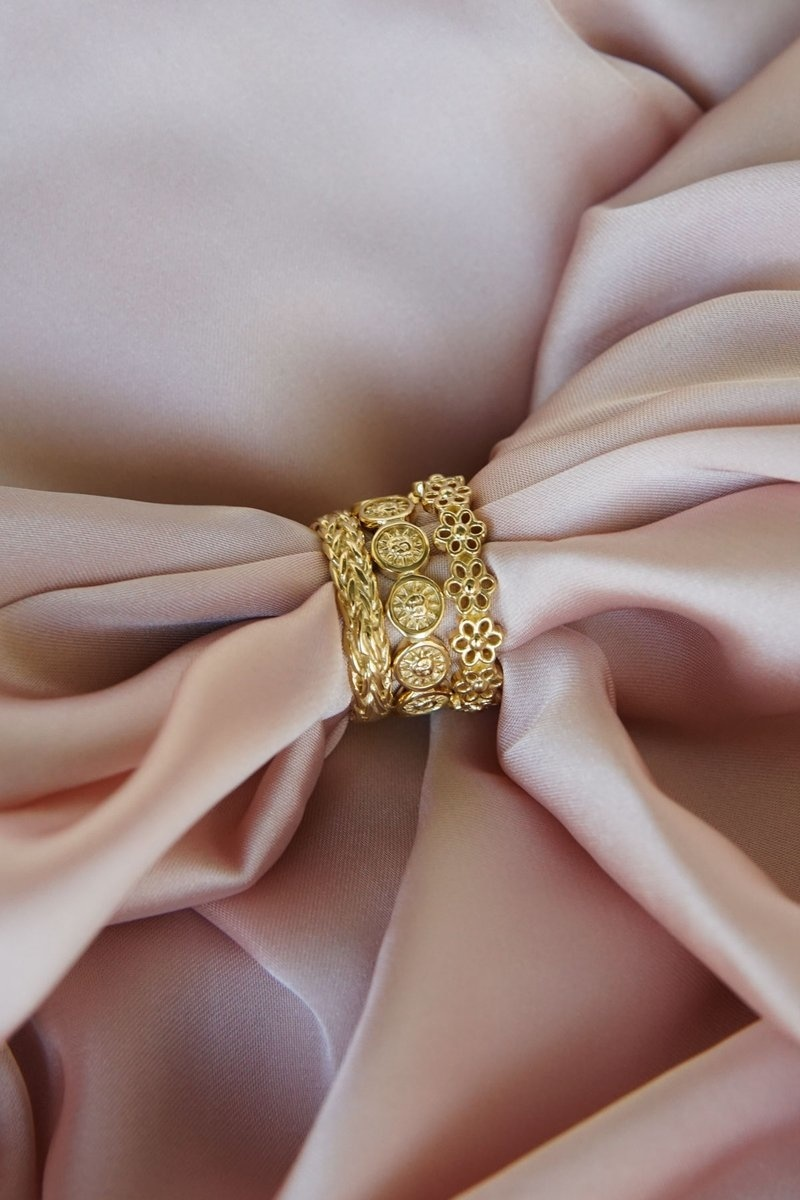 Braided Ring - Gold-3
