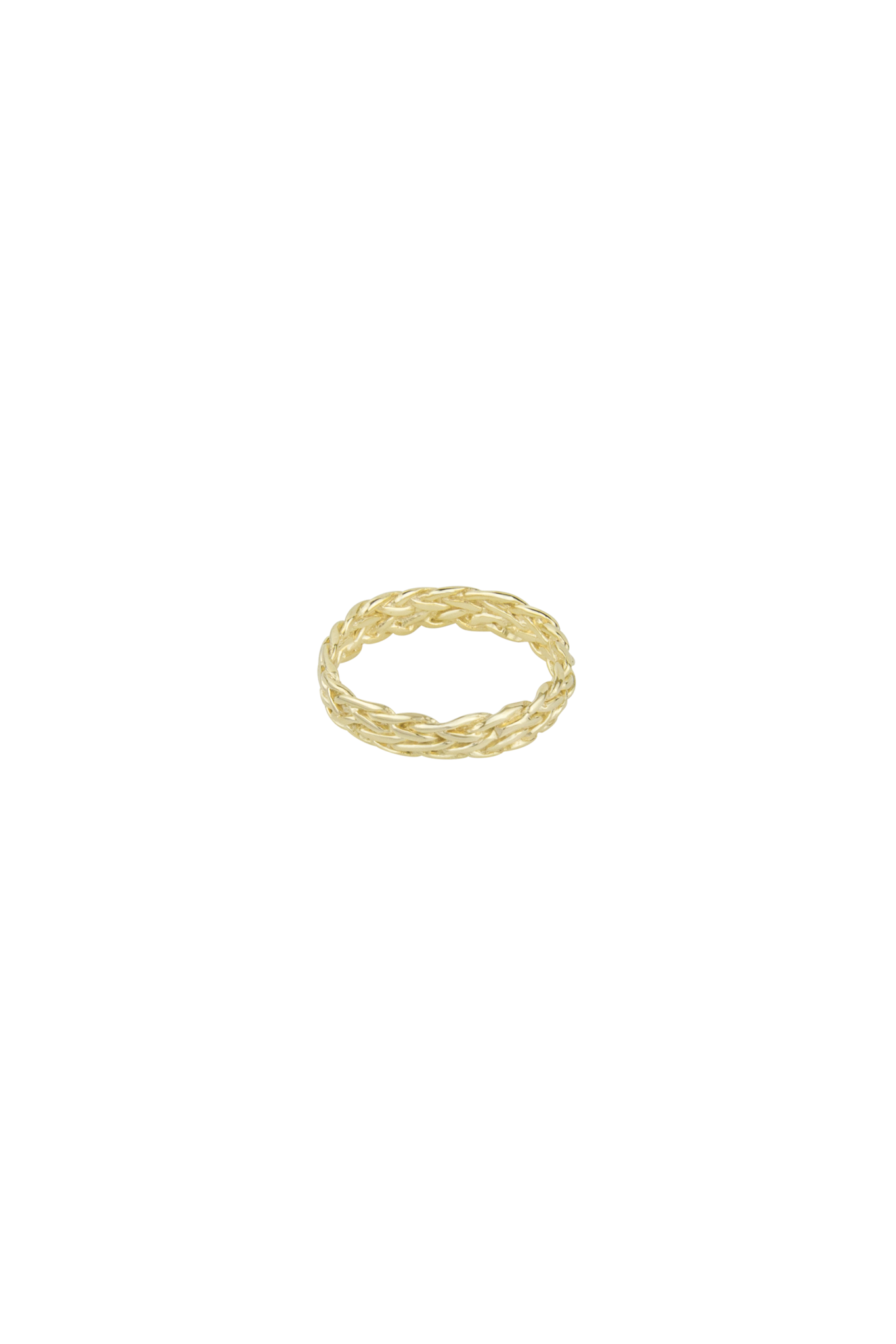 Braided Ring - Gold-1
