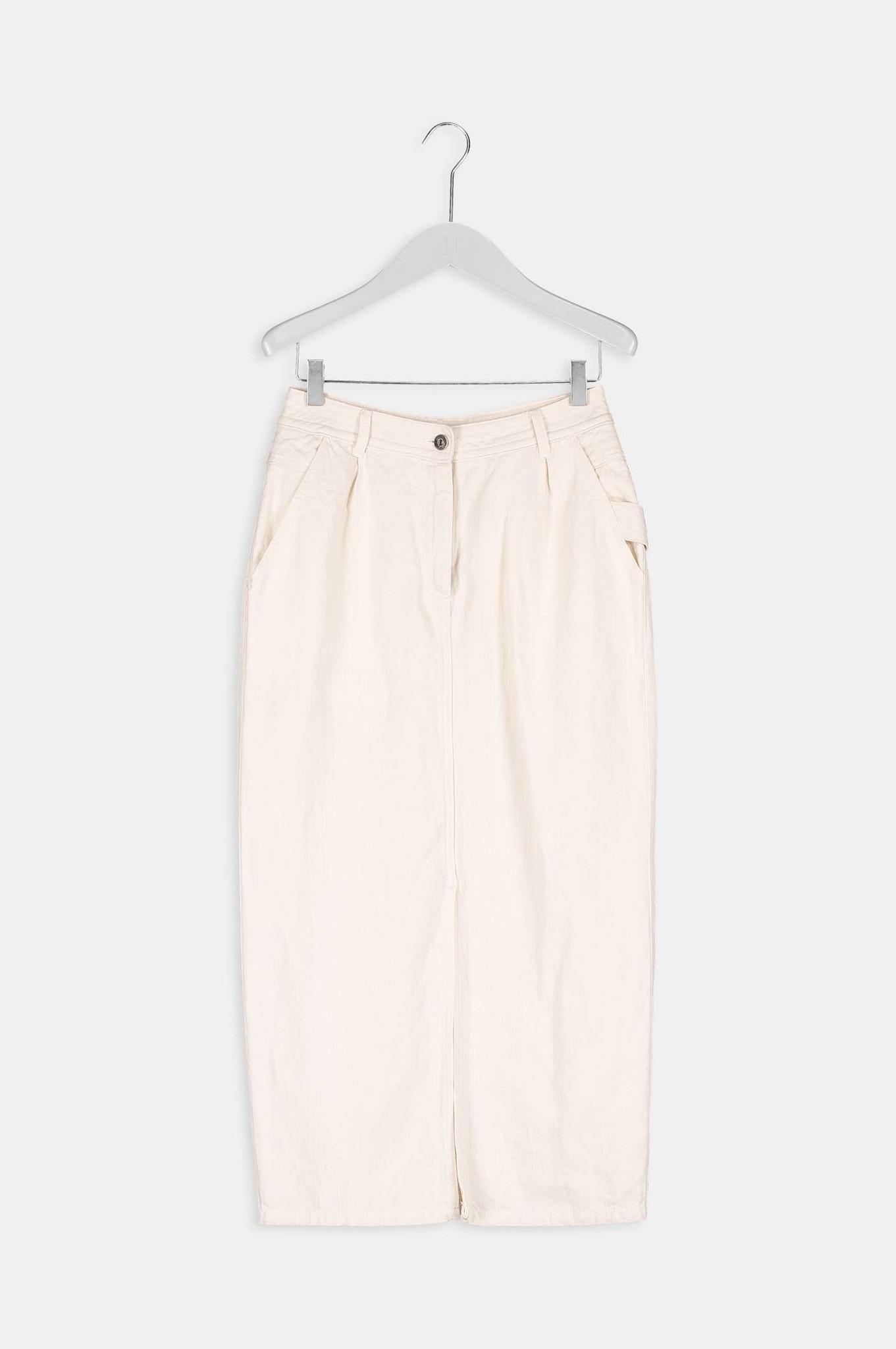 Ami Midi Skirt - Sand-4