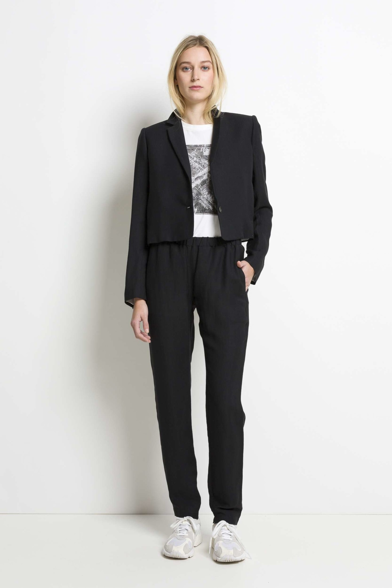 Boaz Trouser - Blackish-2