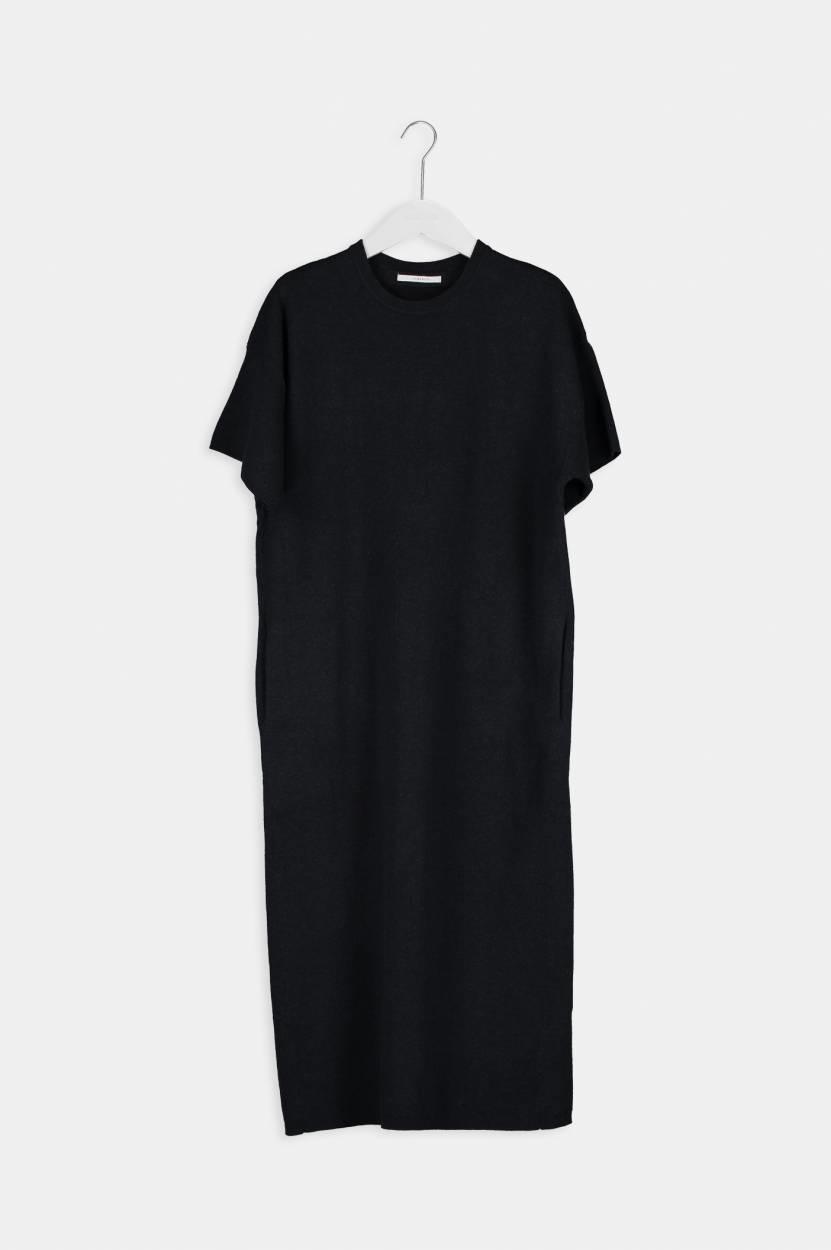 Halsey Dress - Blackish-4