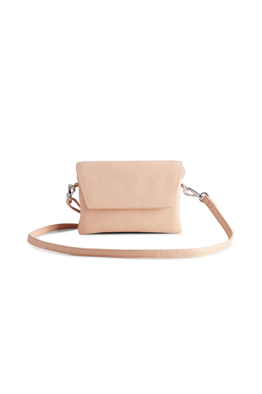 Adella Crossbody Bag Grain - Peach-1