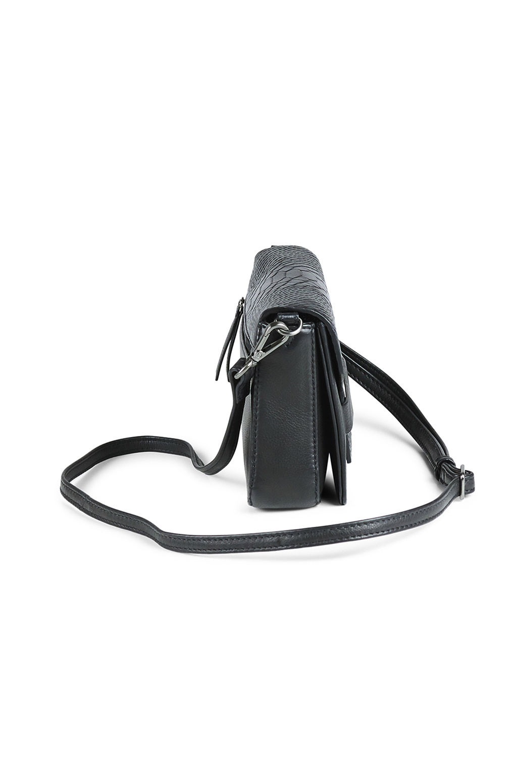 Vanya Crossbody Bag Snake - Black-3