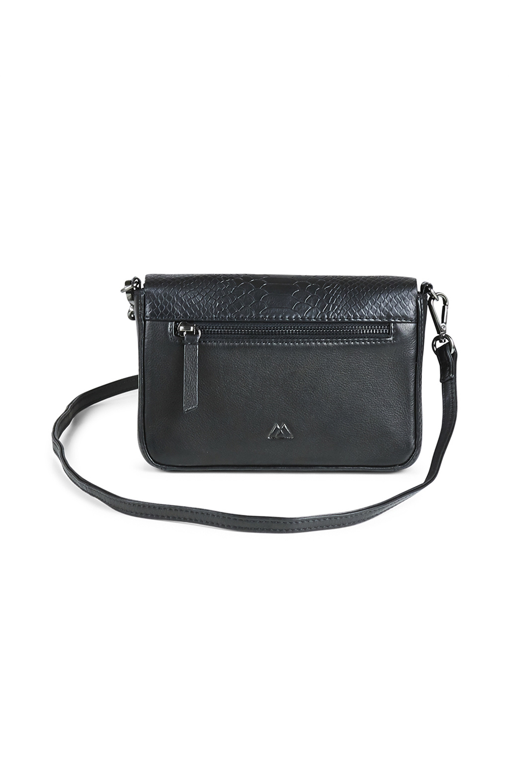Vanya Crossbody Bag Snake - Black-4