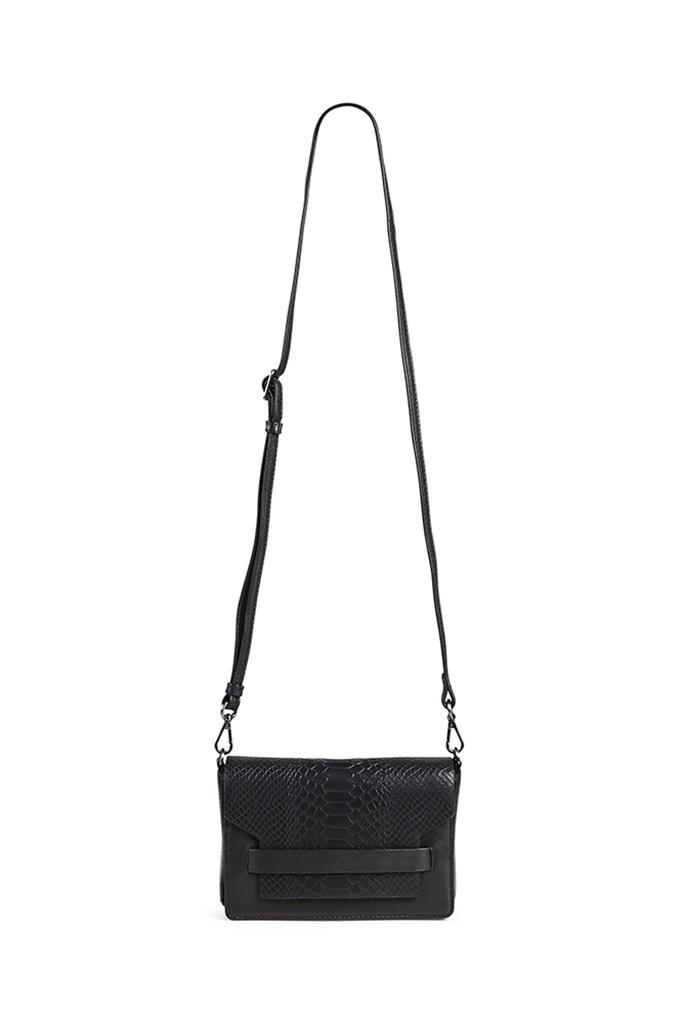 Vanya Crossbody Bag Snake - Black-5