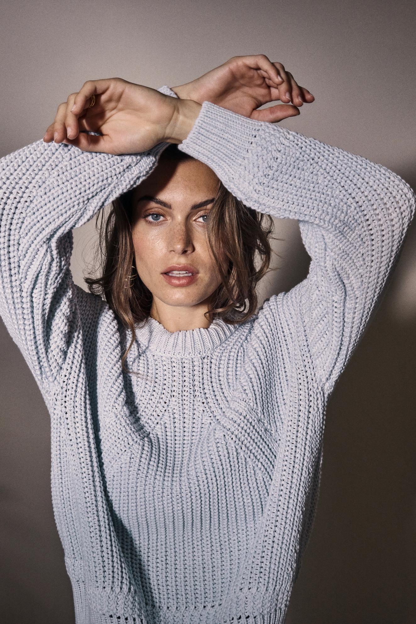 Lizza Knit - Celestial Blue M-2